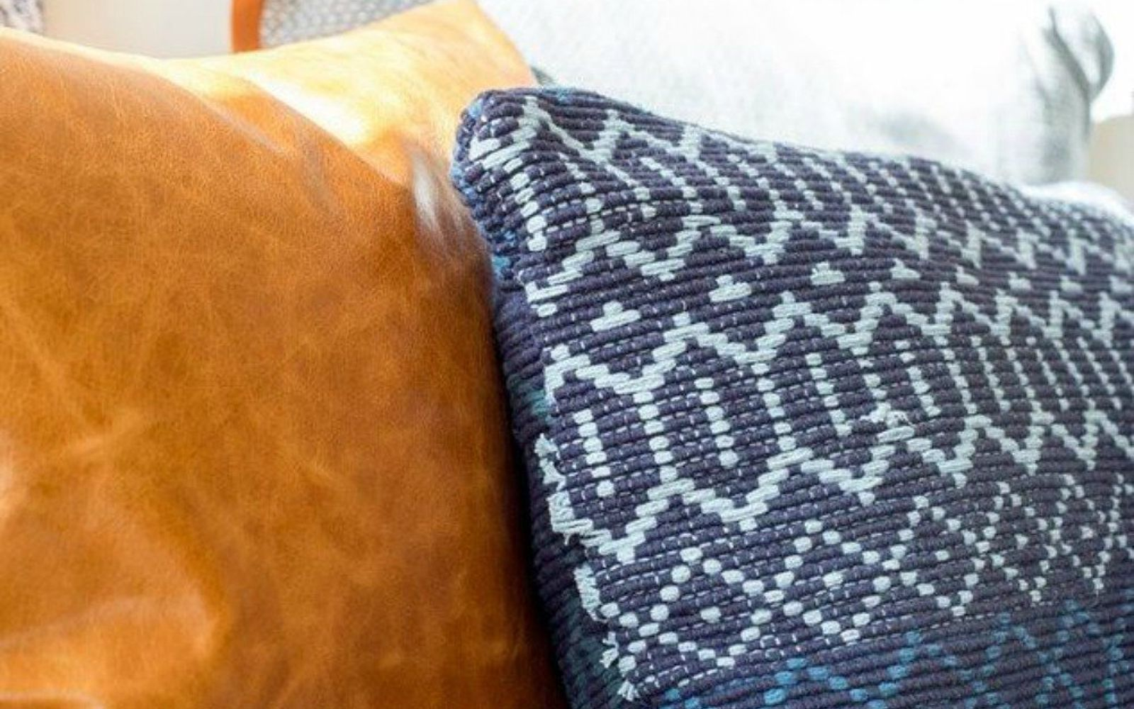 s decorate your living room for under 10 with these 15 ideas, Turn a Dollar Store accent rug into a pillow