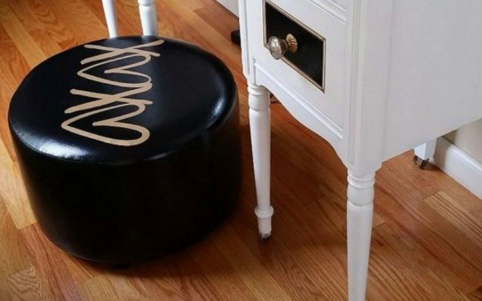 s decorate your living room for under 10 with these 15 ideas, Customize a glamorous moroccan pouf