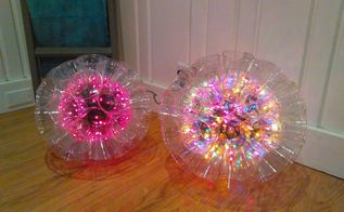a diy sparkle ball light these are awesome
