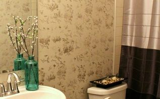 easiest bathroom makeover from tame to toile in 2 5hrs, bathroom ideas