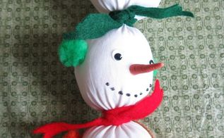 there s still time to make cozy sock snowmen for the winter season