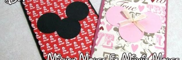 t diy disney mickey mouse minnie mouse greeting card tutorial, how to, pest control