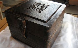 pallet wood keepsake box, pallet