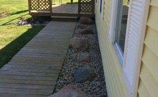 rock landscape, gardening, landscape