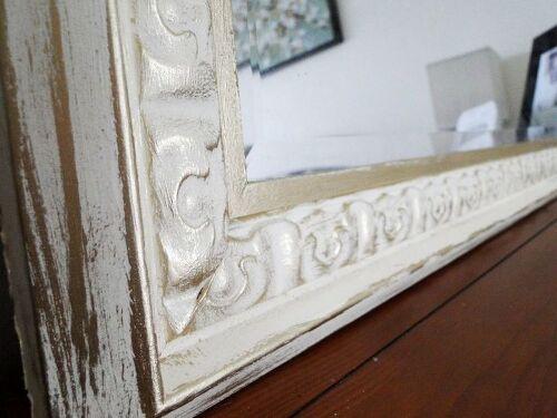 How Do You Distress A Gold Mirror Frame Hometalk
