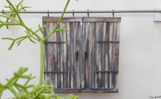 these miniature barn doors are hiding something, doors, outdoor living