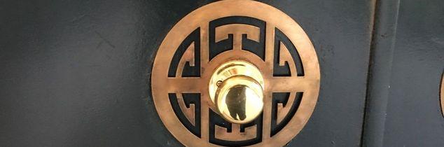 q door knob plates, doors