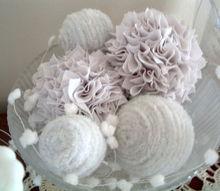 super simple snowballs for home decor, home decor