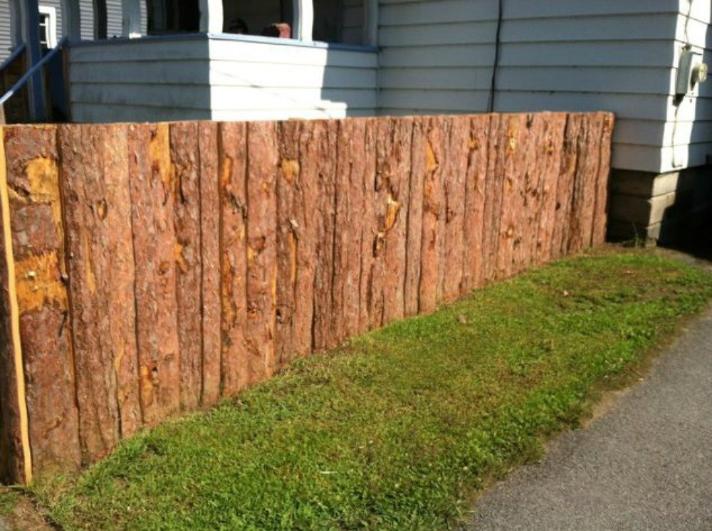 How to get backyard privacy without a fence hometalk for Make your own fence