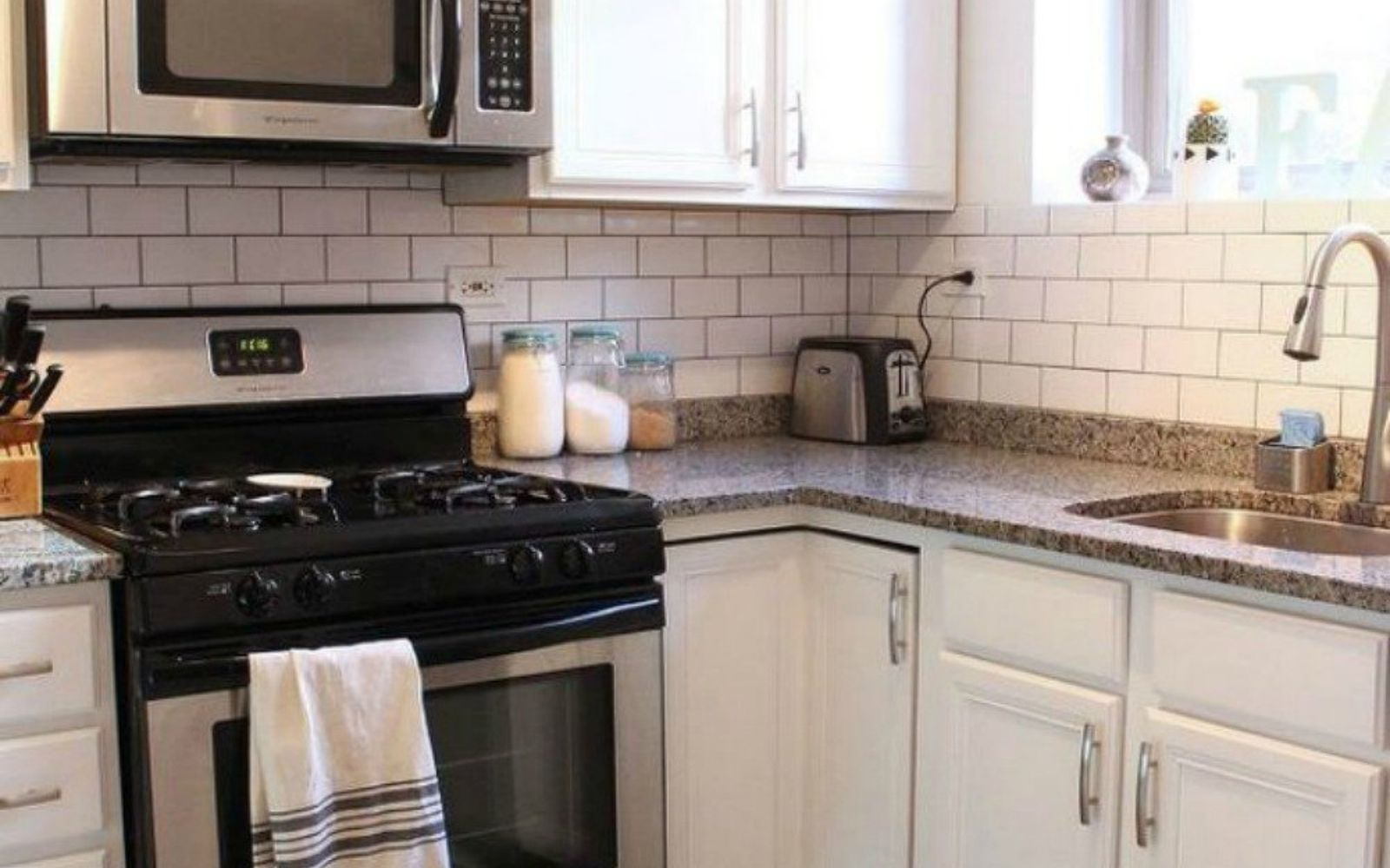 13 kitchen upgrades that make your home worth more hometalk replace your dingy backsplash