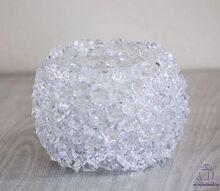 diy 5 ice crystal votive