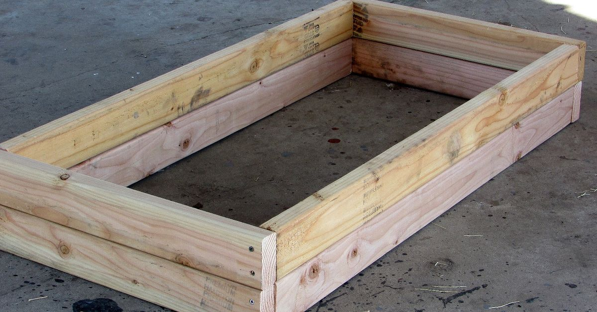 Build A Raised Bed For 10 Hometalk