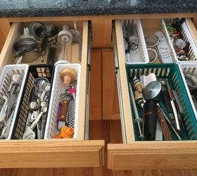 Organize Your Kitchen Drawers, Kitchen Design, Organizing