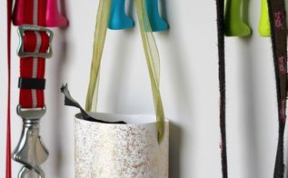 diy hanging poop bag holder