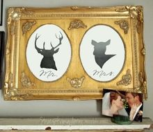 diy doe deer mr mrs artwork, crafts, pets animals