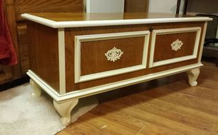 lane cedar chest, painted furniture, woodworking projects