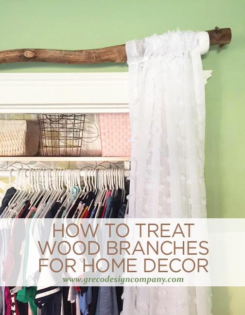 How To Treat Wood Branches For Home Decor Home Decor How To