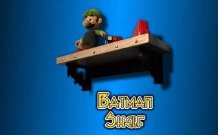 the batman shelf, shelving ideas