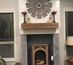 Ugly Fireplace Makeover | Hometalk