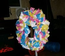 spring easter wreath, crafts, wreaths