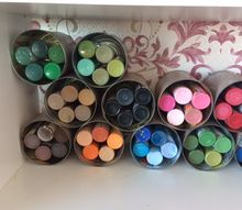 acrylic paint storage easy to see colour, storage ideas
