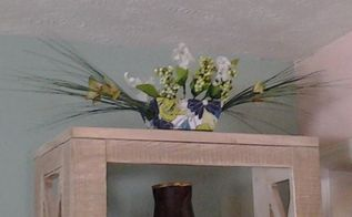 low profile faux flower vases, gardening, go green, plumbing