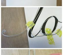 diy wire wall art, crafts