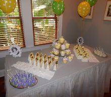 how to create a stunning candy dessert bar, how to, outdoor living