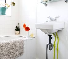 how to clean an old porcelain enamel bathtub or sink, bathroom ideas, cleaning tips, how to, plumbing