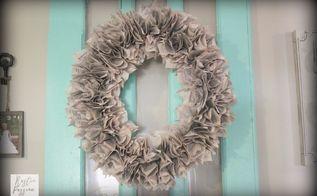 diy book page wreath, crafts, wreaths
