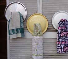 pan lid kitchen towel holders, kitchen design, Pan Lid Towel Holders