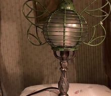 cat mishap gives lamp a new look, lighting