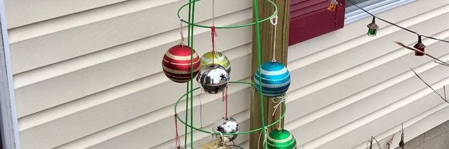 q christmas tree for front porch, Alternative christmas tree