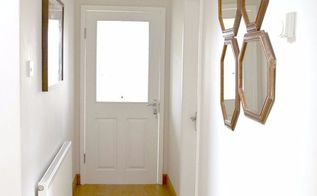 diy hallway makeover the reveal, foyer