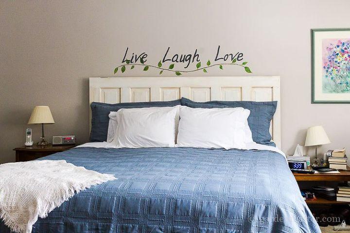 Bedroom Makeover Diy Wall Art Hometalk