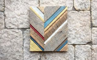 reclaimed wood art, crafts
