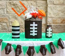 football party decor to make with kids, home decor