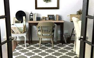 craft room made of thrifty finds, craft rooms, crafts