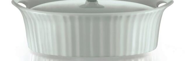 t scratches on white dishes or corning ware