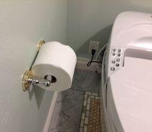 revamping toilet paper dispenser, bathroom ideas