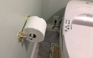 revamping toilet paper dispenser, bathroom ideas