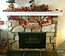 mantel makeover an easy diy project, fireplaces mantels