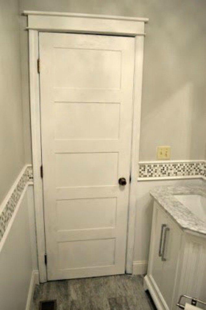 Grey Trim And Doors