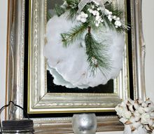 make a winter white wreath for under 5, crafts, wreaths