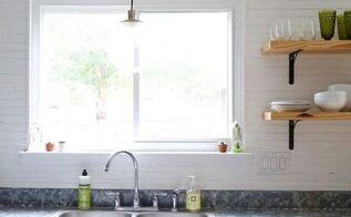 diy farmhouse kitchen sign, crafts, kitchen design