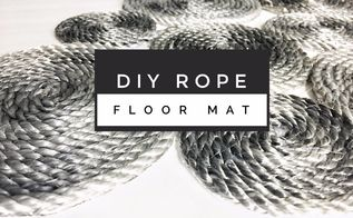diy rope floor mat, flooring