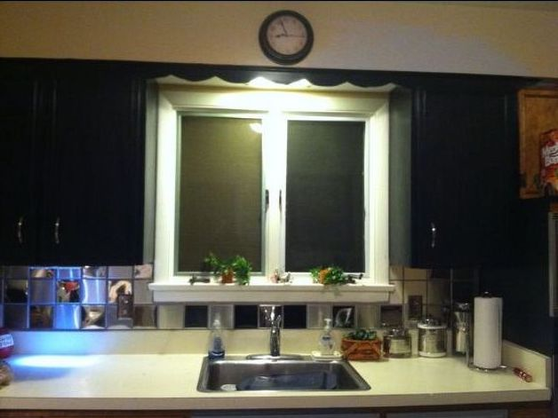 cheap way to cover ur ugly kitchen backsplash tile hometalk