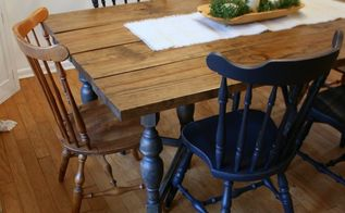 spray it pretty spray painting dining room chairs in navy blue