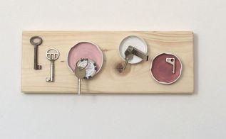 jar lid magnet key holder