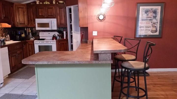 kitchen counter redo hometalk